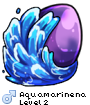 Aquamarinena